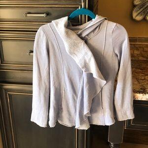 Sugarfly zipper hoodie L